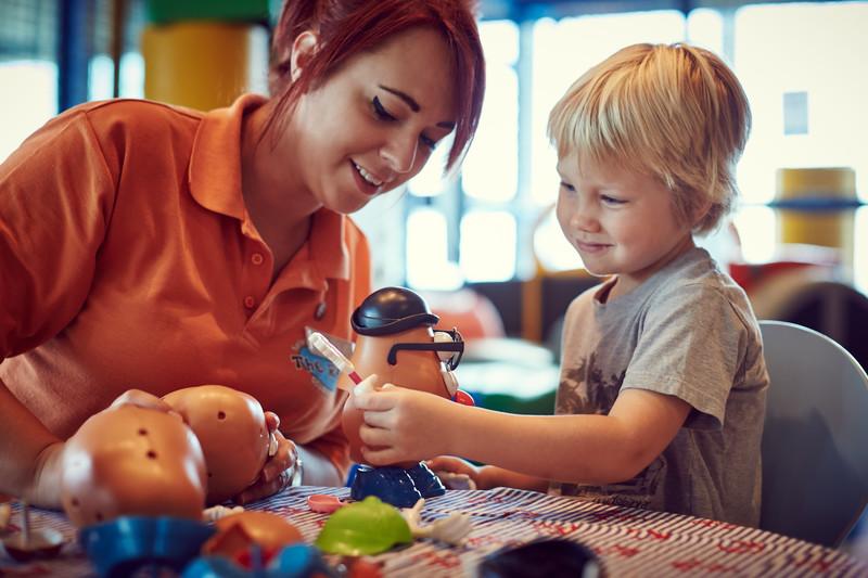 P&O Childcare job