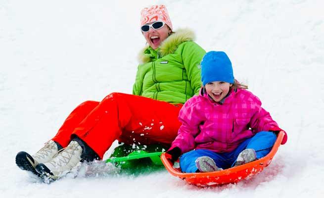 Ski season kids job
